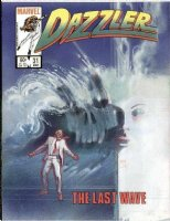 SIENKIEWICZ, BILL - Dazzler #31 large cover painting, Tidal Wave! Comic Art